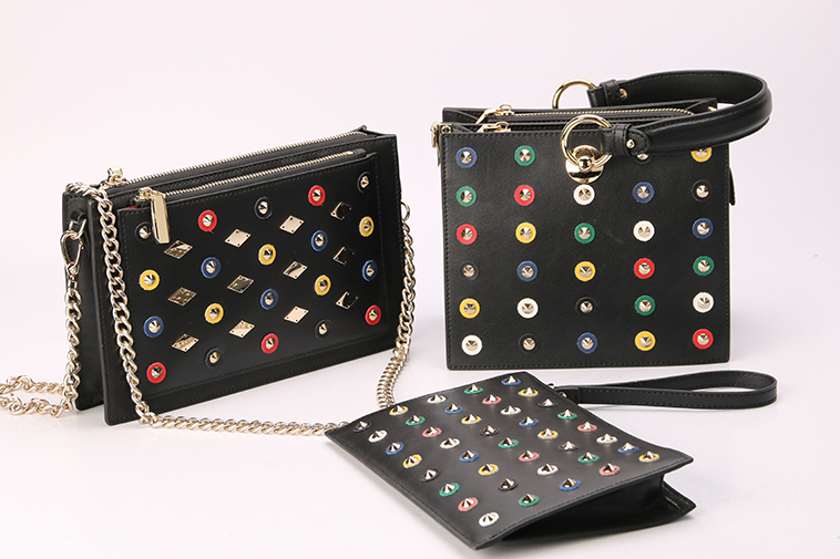 Bags collection with various studs